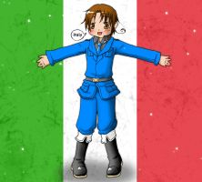 Italia - colored by Mysticbynd