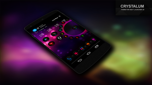 Crystalum Theme For Next Launcher 3D by Karsakoff