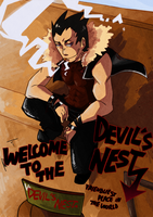 Devil at his nest by PB1593