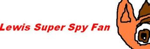 Cal Lewis Super Spy fan button by Callewis2