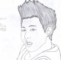 U. Kwon uncolored by KitsuneNoShinderu