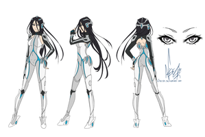 PP-CM Sephzero - Droid girl reff sheet [8] by dNiseb
