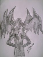 Angel of darkness by LadyWera