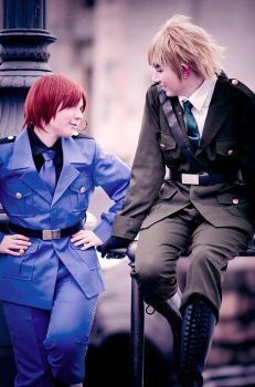 APH - Discussion by BlackBoxCosplay