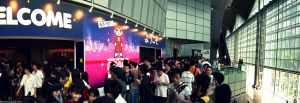 the crowd at AFA by Togusa208