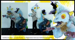 LeeLee Raptor Partial by FehFeh13