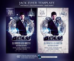 Jack Flyer Template by ranvx54