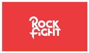 Rock Fight - Logo by Neverdone