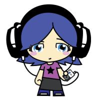 headphone girl by eggay