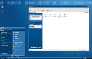 Official Windows Embedded Theme for XP by Vishal-Gupta