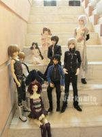 Angel Jointed 1st Dollmeet by darknaito