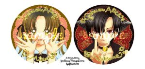 GakUENAliCE:BuTToNS-- by lysflies