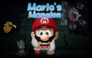 Mario's Mansion by GEO-GIMP