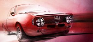 Alfa Romeo Junior GT by lockanload
