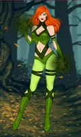 Poison Ivy by whitewolfdreamer27