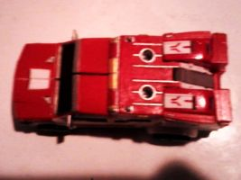 Transformers Prime Ratchet Custom: Vehicle Mode 5 by FaintofHearts33