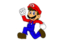 Speed Sketched - Mario by jrc1120