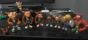 That's alot of Bandicoots by FierceTheBandit