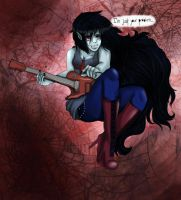 Marceline, the Vampire Queen! c: by HannahPotterPayne