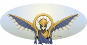 Xdamianc's Evolved Templar of Ra by Pearl-Shadow