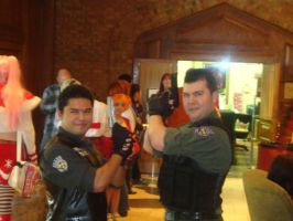 Seeing Double Chris Redfield by MacArther