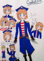 Pirate Percy drawing practice by Shinigami-Rem-san