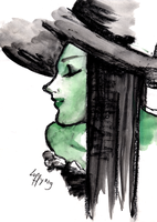Elphaba by MonaLuffy
