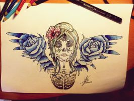 Death Angel by MartaCmTattoos
