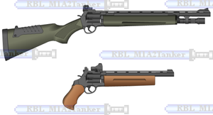 Covus Revolvers - by KahnIceay by RBL-M1A2Tanker