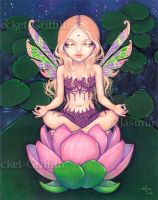 Lotus Fairy by jasminetoad