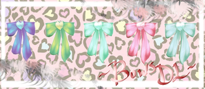 [MMD] Pretty Bows DL by DeidaraChanHeart