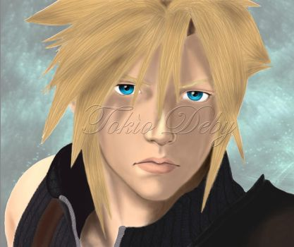 Cloud oh Final Fantasy by TokioDeby