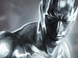Speed paint - Silver Surfer by wongtszking