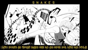 SNAKES ARE BAD ASS SOUL EATER by ananomus111
