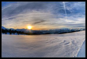Mountains and Snow by stetre76