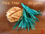 Pine Tree Origami by adnileb