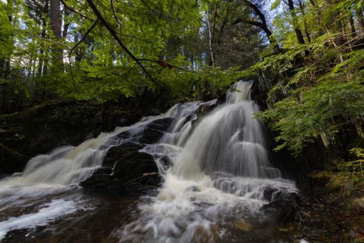 Patty's Falls - Drew Plantation, Maine 02 by Riot207Photography