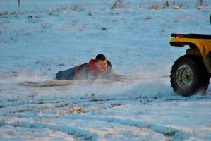 Redneck Sledding by sweetz76