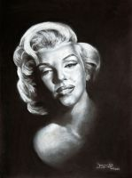 Marilyn Monroe by Fruksion