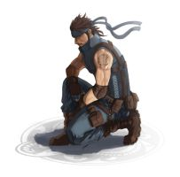 solid snake by bayanghitam