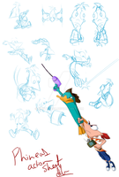 Phineas Action Sheet by KicsterAsh