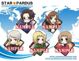 APH:Keychain: Central Europe by MaowDao