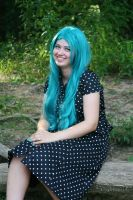 Turquoise Smiles by BengalTiger4