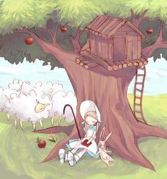 Mary Had A Little Lamb by mixed-blessing