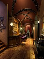 Basement Bar by cds-618