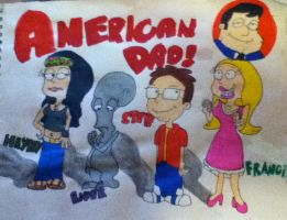 American Dad by founten