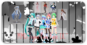 .: MMD - Figma Pose Pack DL :. by PandaSwagg2002