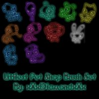 Littlest Pet Shop Brush Set by xXxDiamondxXx