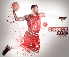 Derrick Rose Wallpaper by XB21