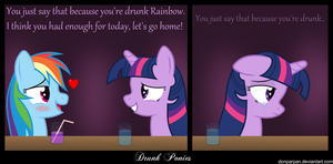 Drunk Ponies1 by DonParpan